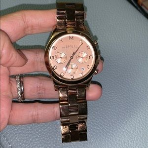 Marc Jacobs watch in Rose